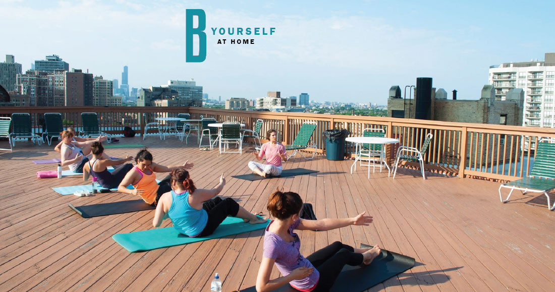Wrightwood Rooftop Yoga